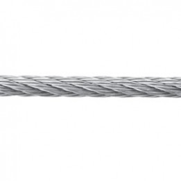 Cable inox 316 7x7 diam 6mm bobine 100 ml