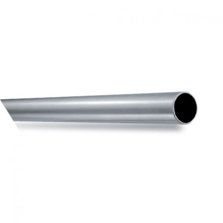 Tube inox 316 brossé grain 220 diam 42,4x2ep l 3ml