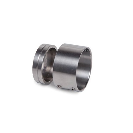 Fixation murale inox 316 pour tube d42,4mmx2mm