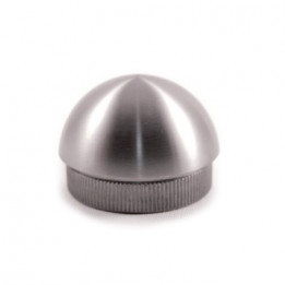 Bouchon aisi inox 304 pour tube d42.4mmx2mm-h20mm