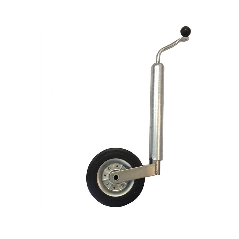Roue jockey d 48 sans support