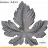 Feuille 50 mm ep 1.2 mm,1